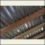 Metal roof condensation