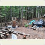 Sauna build.