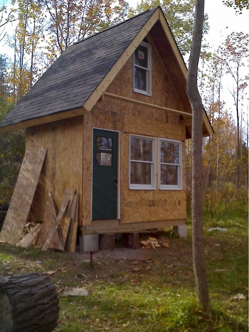 Check my small cabin insulation plan small cabin forum Tiny cabin
