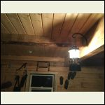 Lantern,  wall beam picture