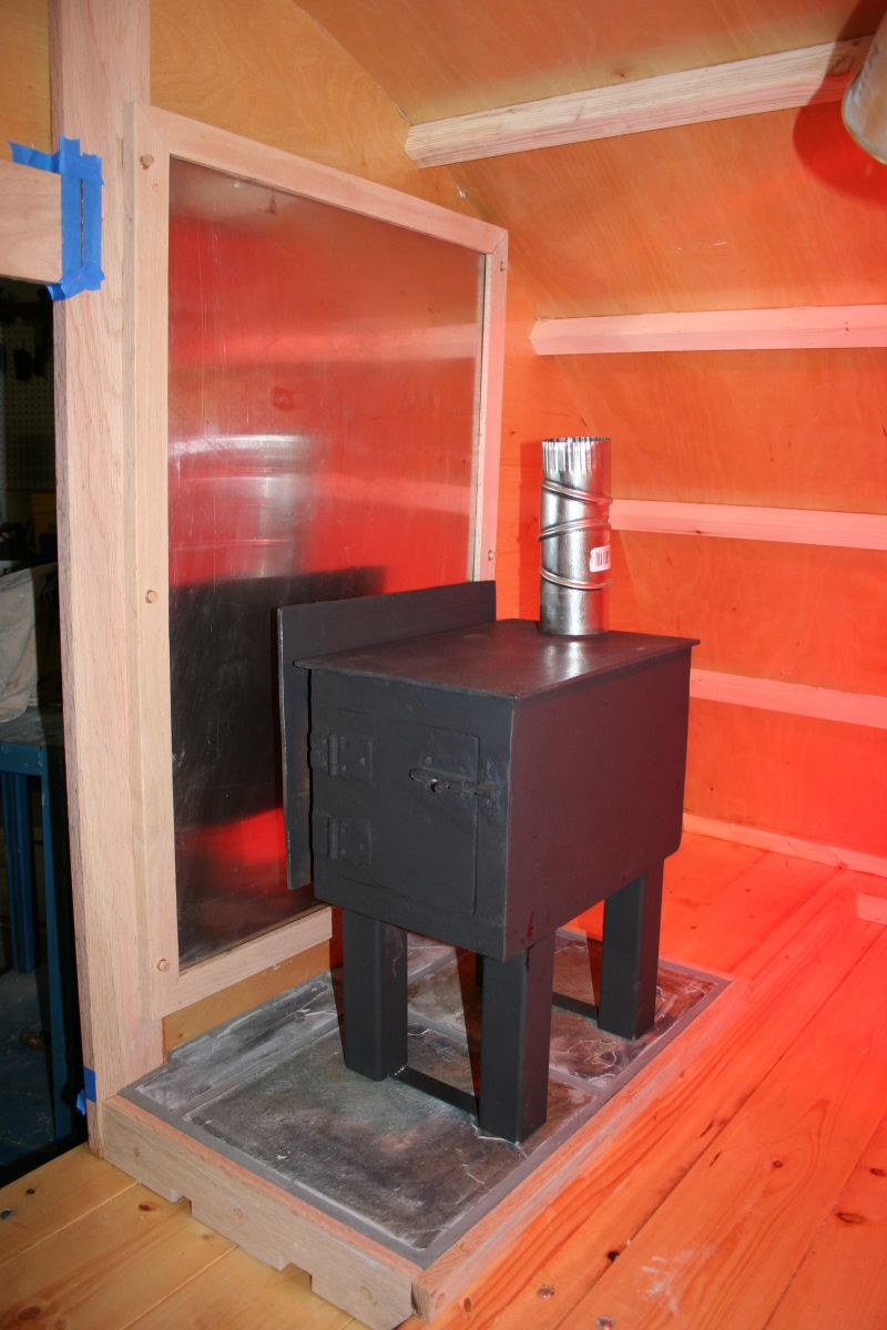 Small Cabin Wood Stove Setup Small Cabin Forum 2