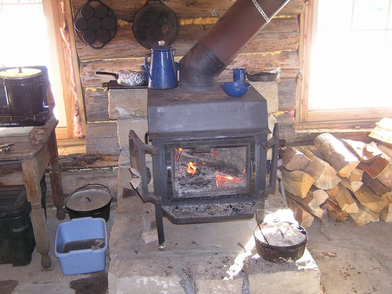 wood stove - Small Cabin Wood Stove Setup - Small Cabin Forum (2)