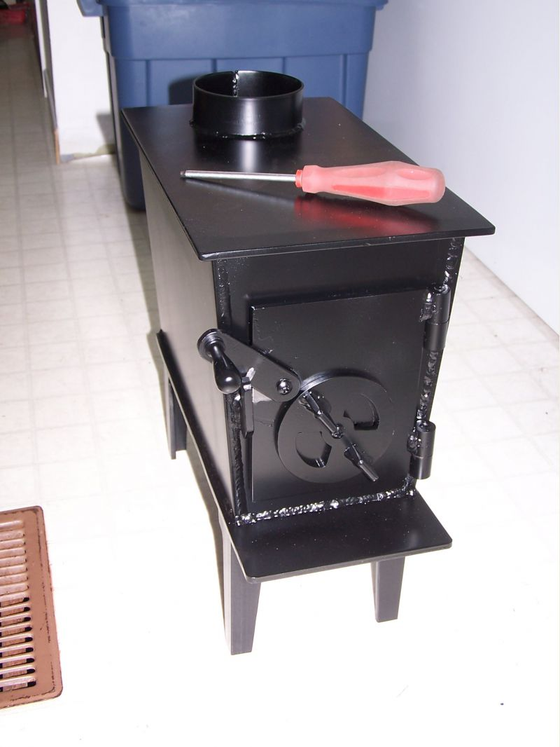 Small Cabin Wood Stove Setup - Small Cabin Forum (5) - Small Wood Stoves For Sale WB Designs