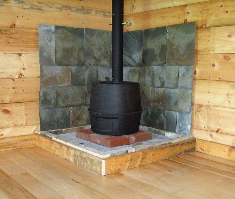 Small Cabin Wood Stove Setup Small Cabin Forum 7