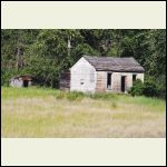 """The last of the """"Seven Sisters"""".  There used to be 7 identical cabins at the edge of our town."""