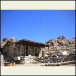 Osborne cabin, Panamint Valley, California.