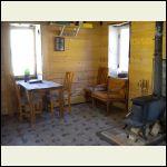 Osborne cabin,inside