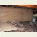 Under cabin storage area