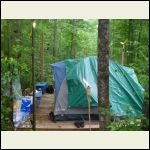 The original 12X12 with tent and chairs