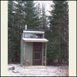 our outhouse