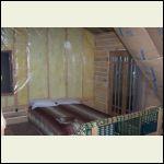 wood in loft