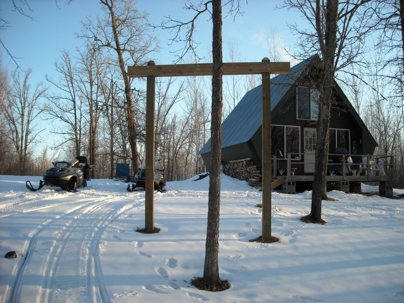 16x24 hunting cabin w loft and decks small cabin forum for Off grid cabin foundation