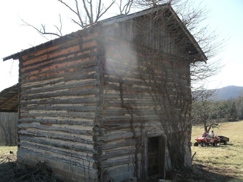 Tobacco barn to cabin small cabin forum for Tobacco barn house plans