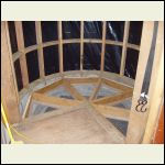 floor framing in turret