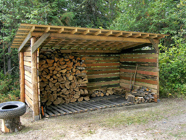 Must all firewood sheds have airflow? - Home Improvement ...