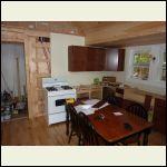 Kitchen in prog. - showing plumbing