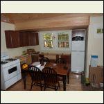 Kitchen in prog. with fridge