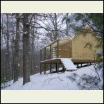 Cabin work impacted by winter