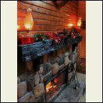mantel for Christmas