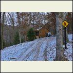 Lane to cabin