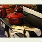 wet socks drying on Beulah