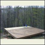 My Ohio cabin foundation.
