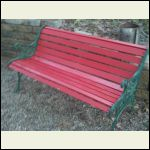 Harbor Freight bench repainted