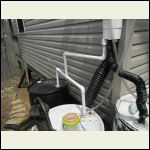 Plumbing rain barrels