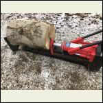 Trusty manual hydraulic splitter