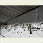 Corrugated snow