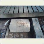 Concrete block step