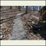 Fresh gravel and no mud
