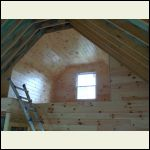 the loft prefinished tG pine