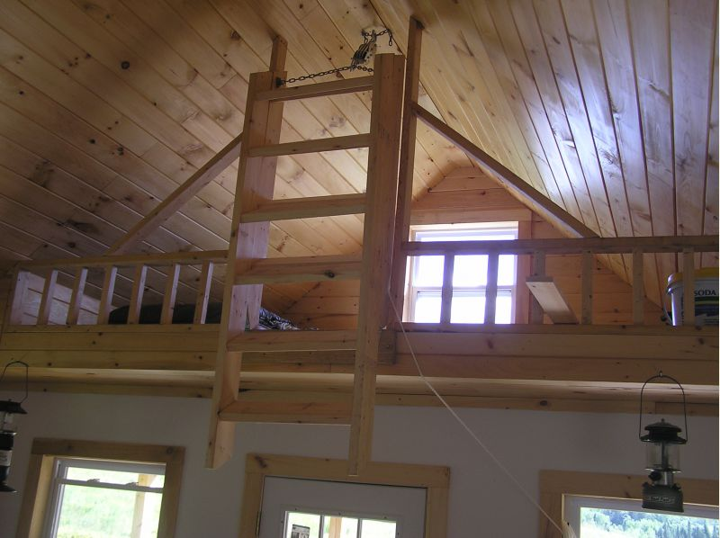 Loft Ladders Small Cabin Forum 1