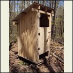 Stump Ranch Outhouse