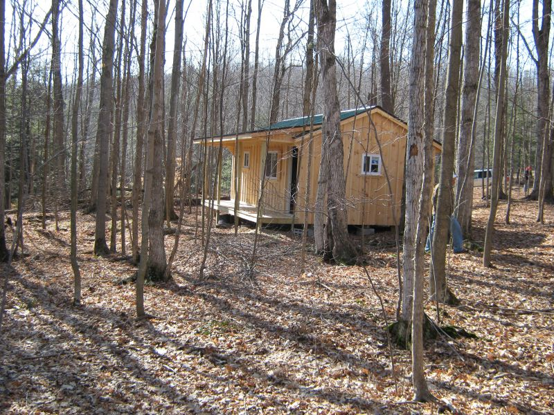 Board And Batten To Stain Or Not To Stain Small Cabin Forum