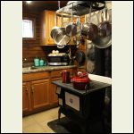 stove with matching cookware