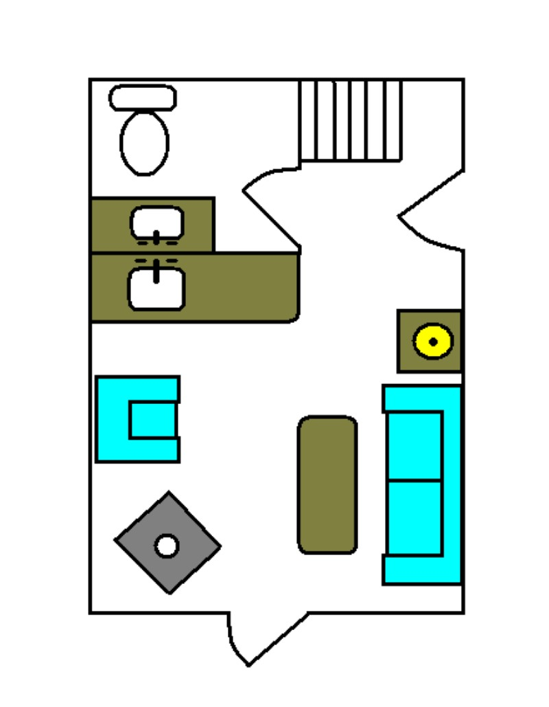Easycabindesigns also 12 X 32 Cabin Floor Plans With 1 Bedroom as well ...