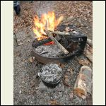 Dutch oven and coal supply
