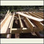 3/8 ply inset between I-joists