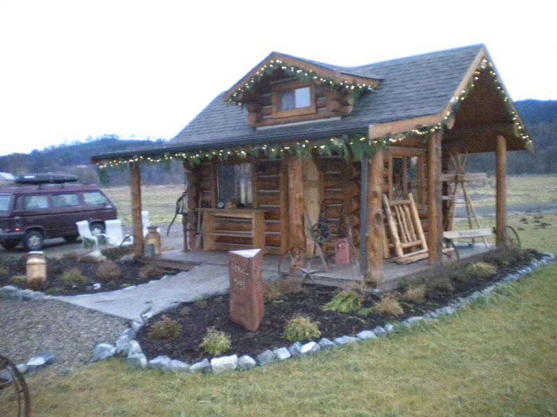 A nice 12x16 log cabin kit Creasey Log Homes Small Cabin Forum