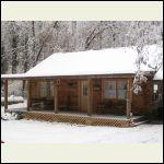 My dad's cabin he left behind