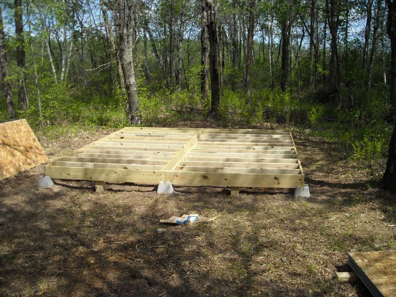 16x16 hunting cabin small cabin forum 1 for Small hunting cabins