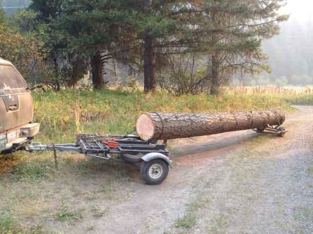Portable sawmills small cabin forum for Hudson log