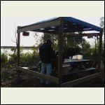 pergola cook shelter