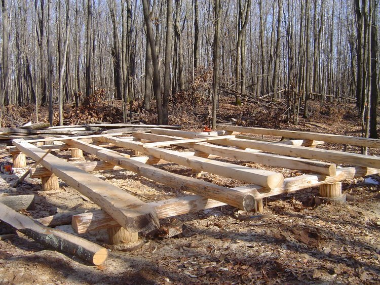 Poured pier foundation small cabin forum for Foundation options for cabins