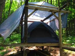 Tent platform anyone done doing it small cabin forum for Canvas platform tents