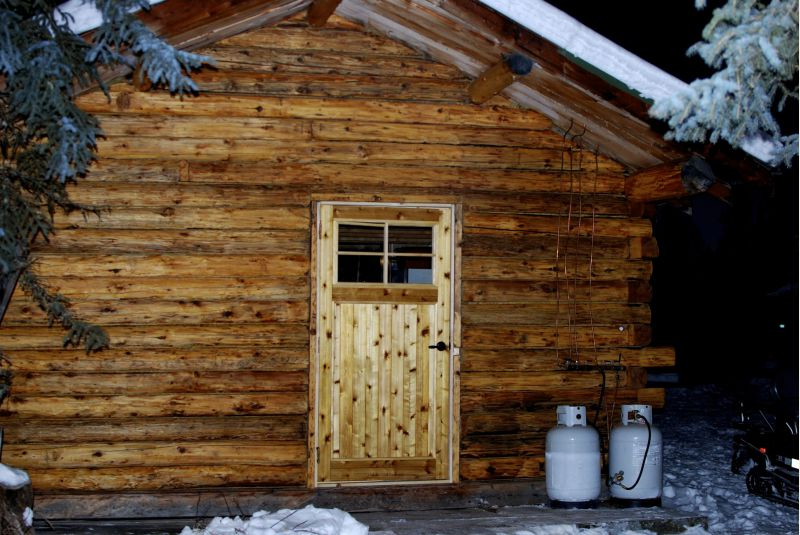 3 Sided Log Alaskan Cabin Small Cabin Forum 2