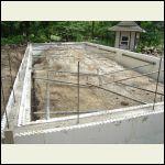 After foundation pour