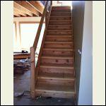Rough Sawn Cedar for trim and rise
